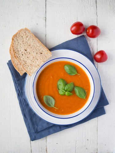 Roasted tomato soup by More Than Just Carrots