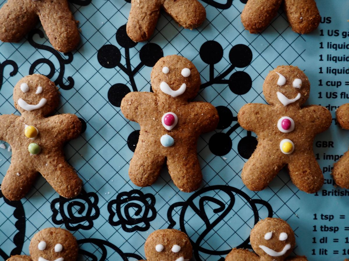 Gingerbread men from More Than Just Carrots