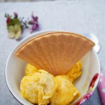 Healthy Mango Ice Cream