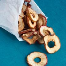 dried apple rings from More Than Just Carrots