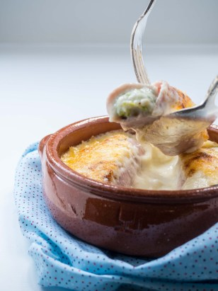 Leek in ham gratin by More Than Just Carrots