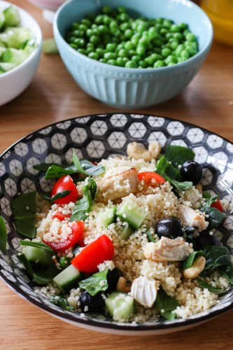 Tabbouleh from More Than Just Carrots