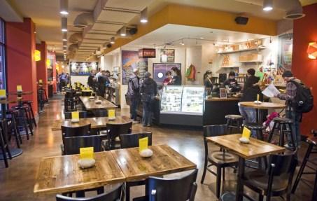 Native Foods Cafe, 218 S. Clark st. | Rich Hein~Sun-Times