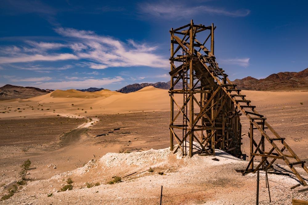 ibex dunes death valley national park