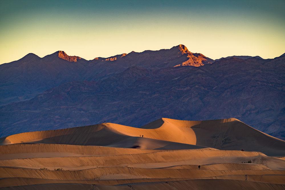 mesquite dunes death valley national park