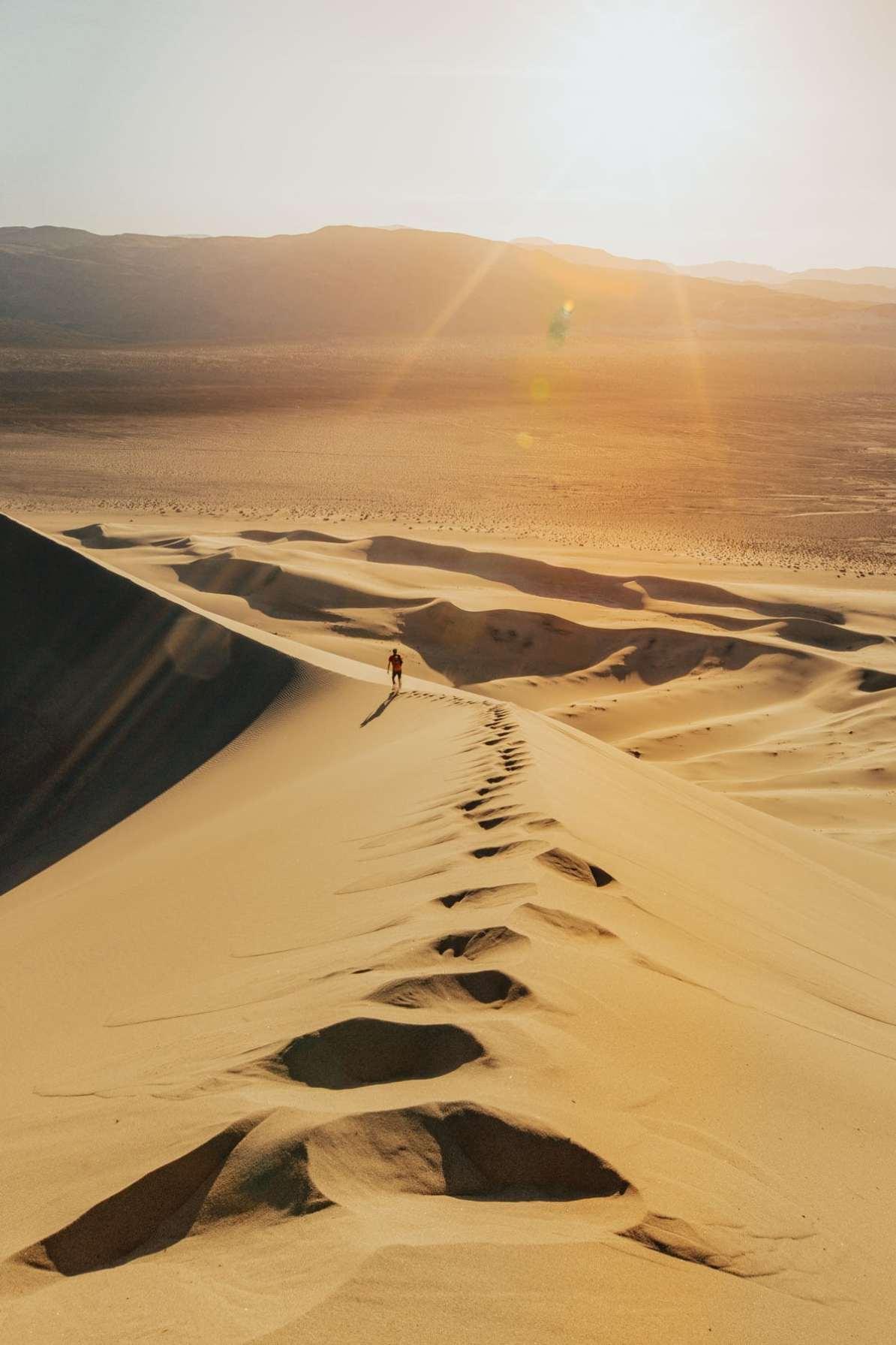 eureka dunes death valley national park, california