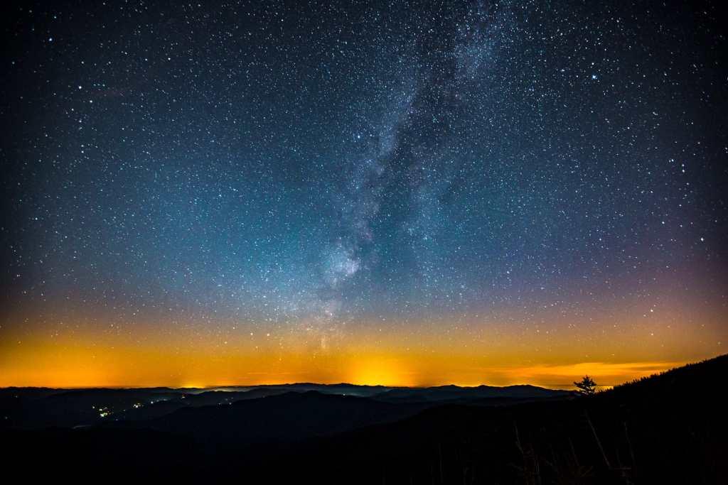 stars over the smokies