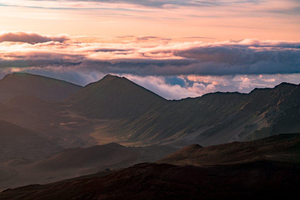 Mountains of Haleakala
