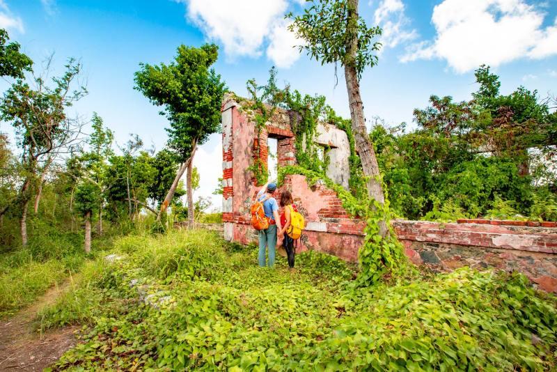 america hill ruins hike st john virgin islands national park