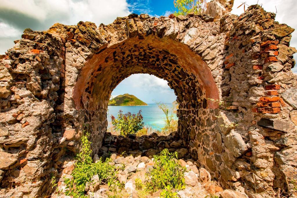 virgin islands national park ruins
