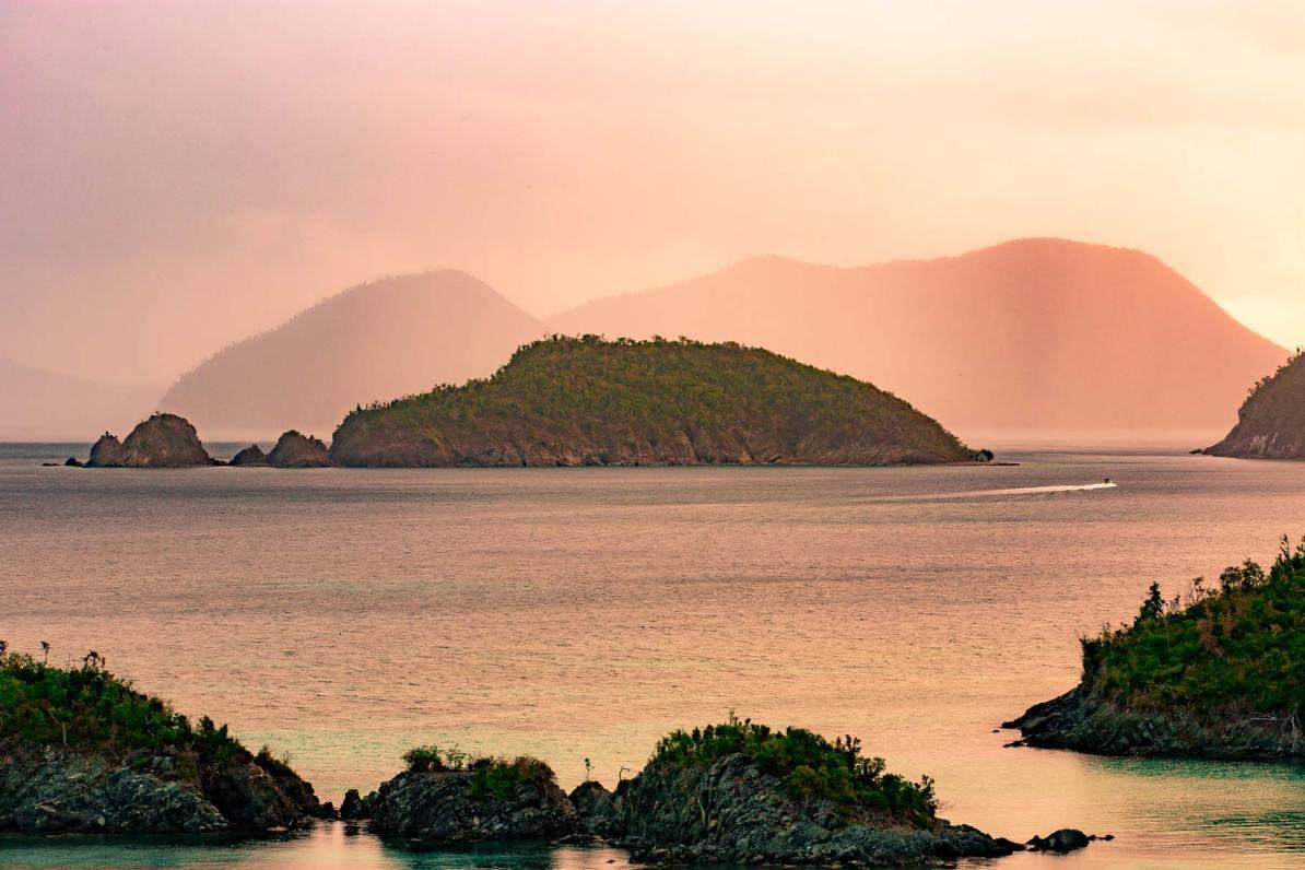 virgin islands national park weather