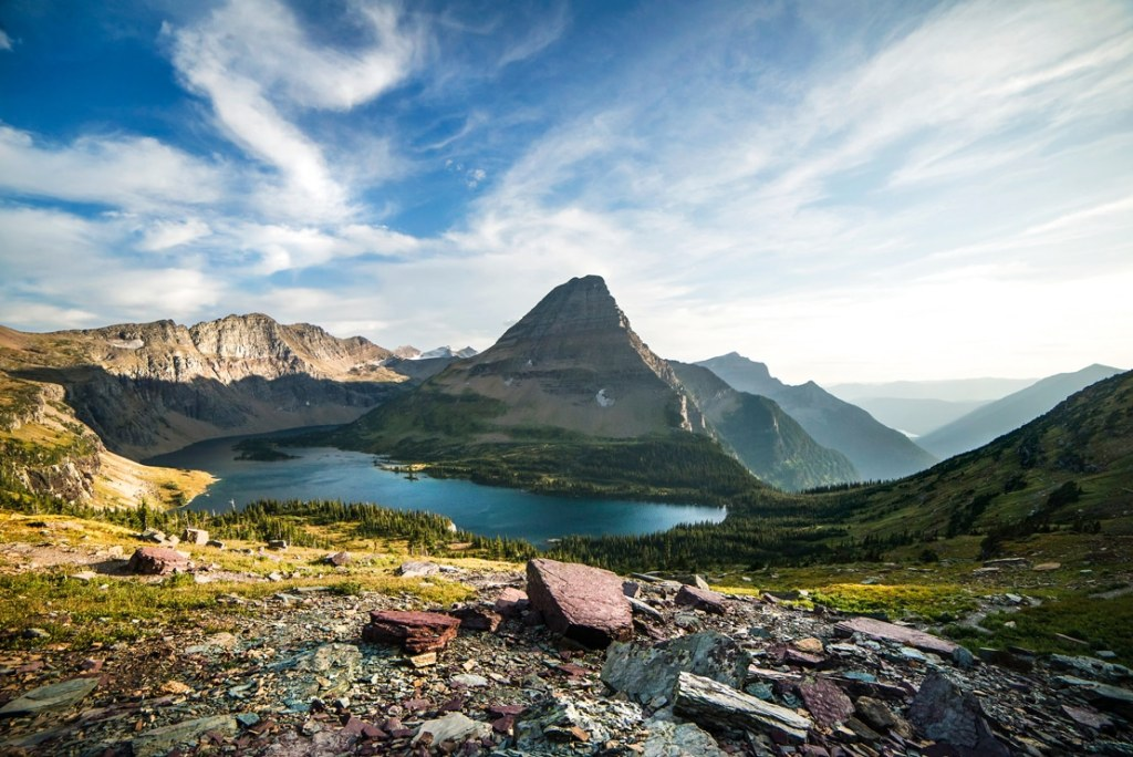 glacier national park, best national parks