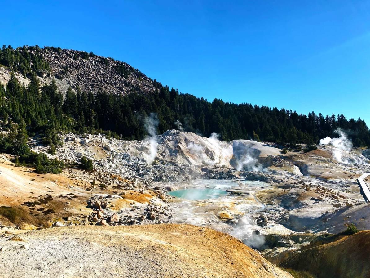 bumpass hell lassen volcanic national park california