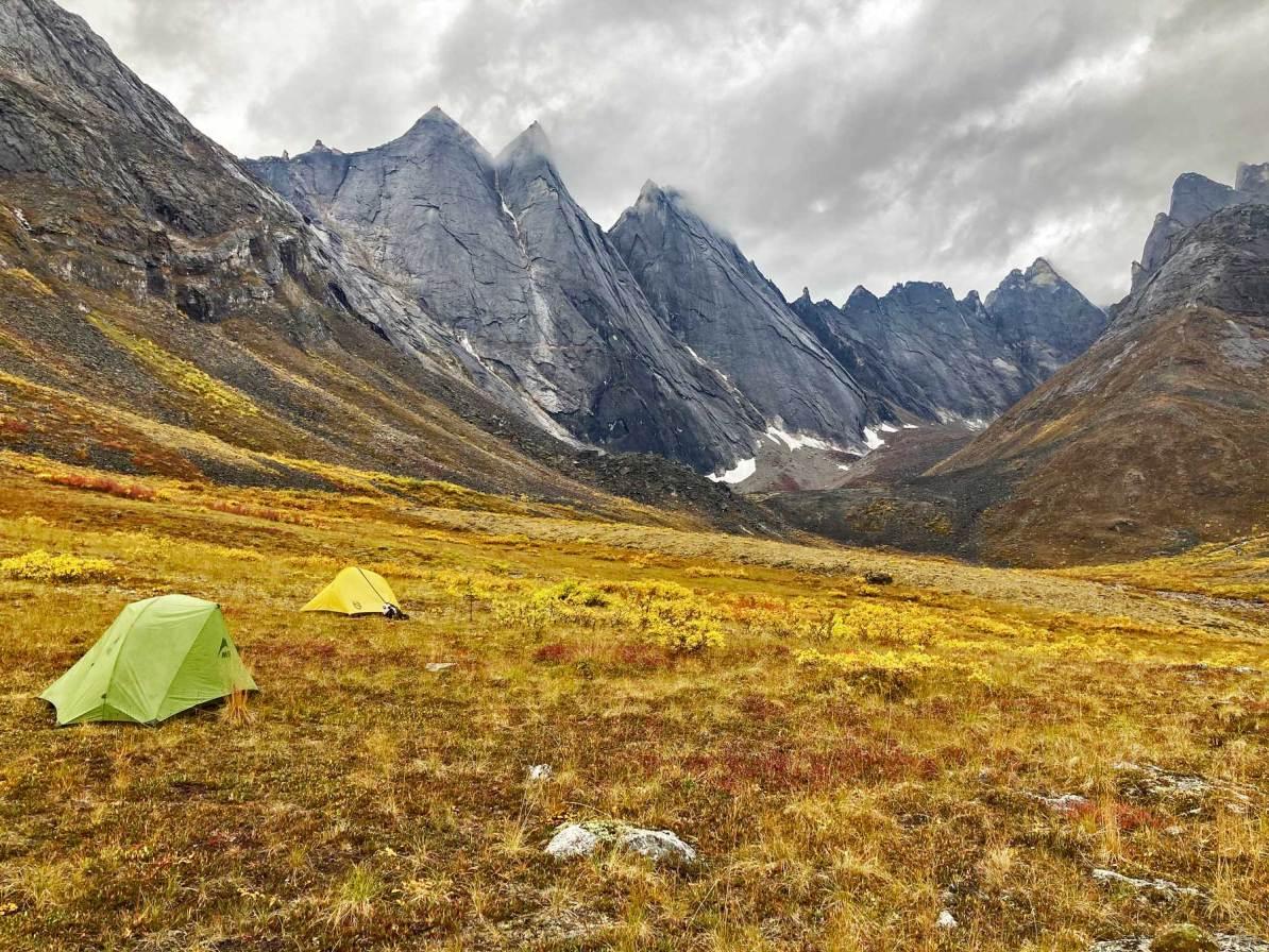 camping gates of the arctic national park alaska