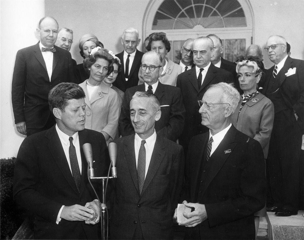 Cousteau's undersea world would garner praise from world leaders including President John F. Kennedy.