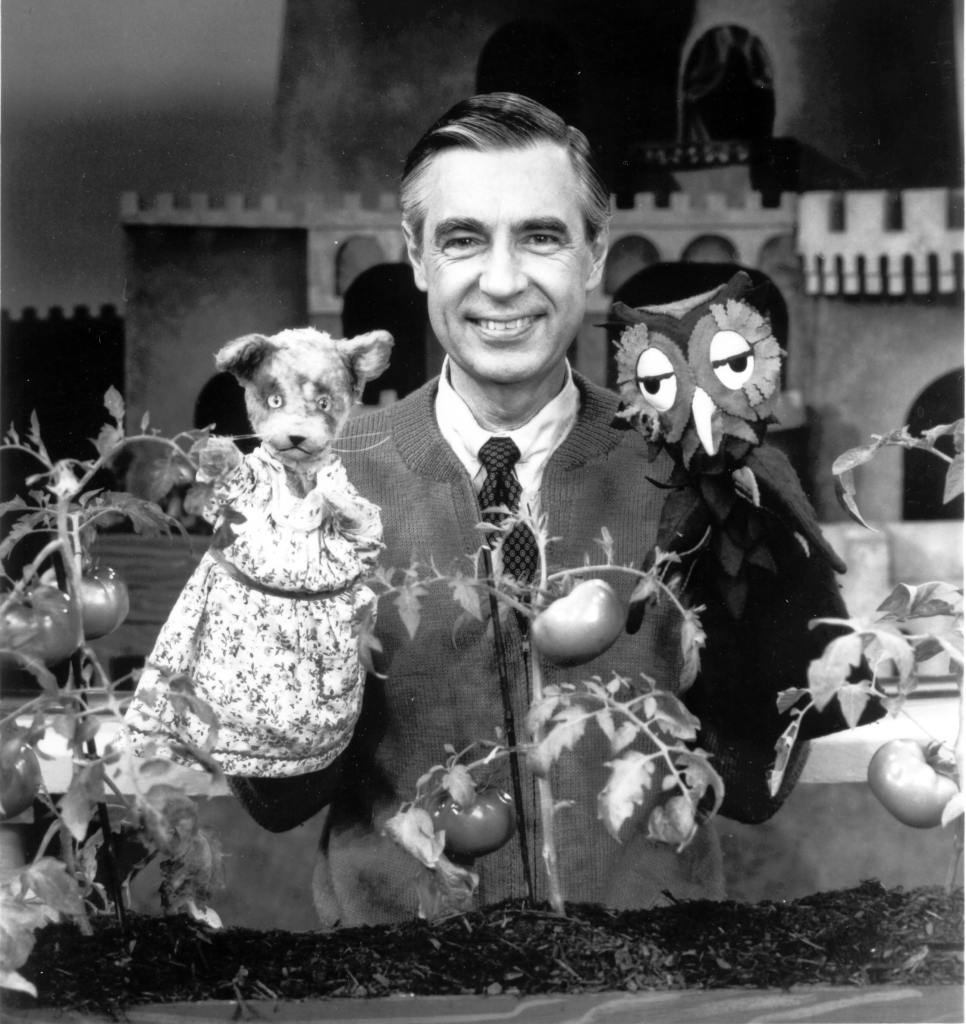 Fred Rogers reached out to children in his neighborhood just as Jacque Cousteau did in Cousteau's undersea world.