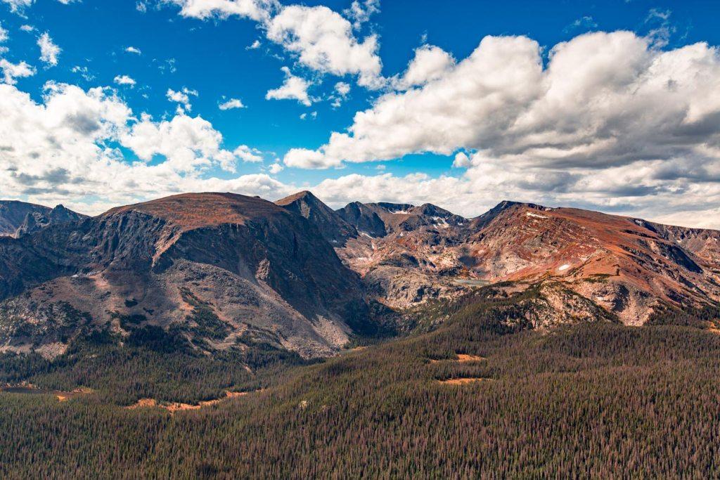 trail ridge road views rocky mountain national park colorado