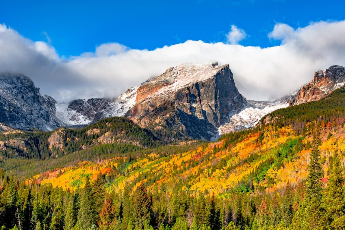 fall in rocky mountain national park colorado
