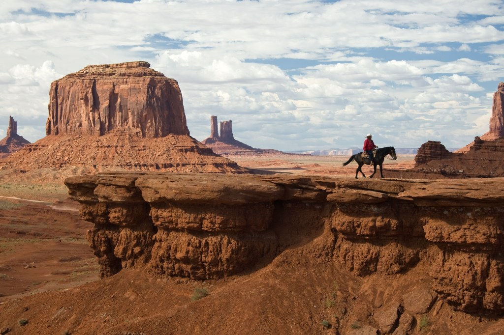 One western movie star stands above the rest-John Wayne    National Parks In Movies