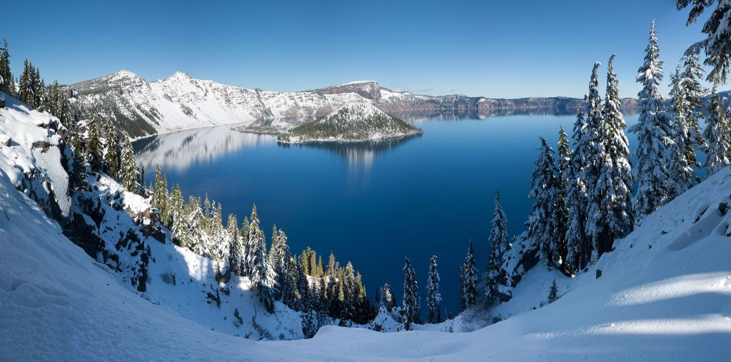 The park had several discoverers | Crater Lake National Park