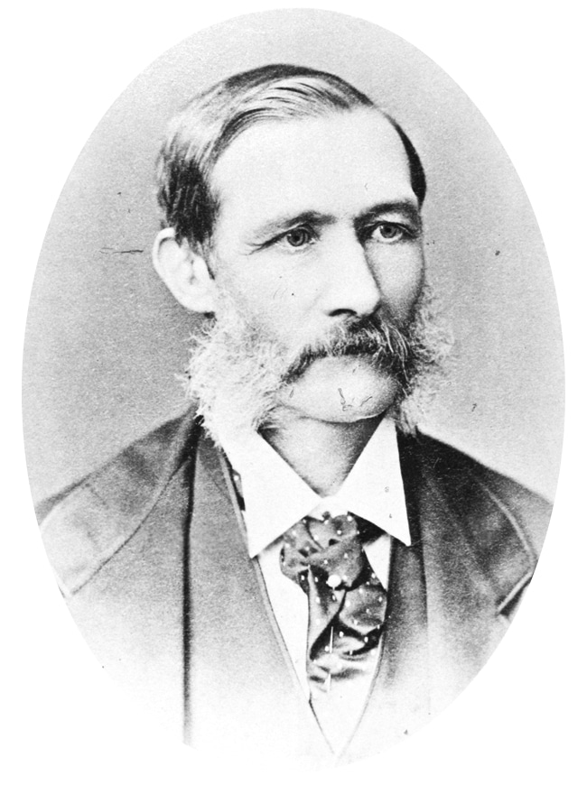 Dietrich Brandis taught Gifford Pinchot how to manage forests.