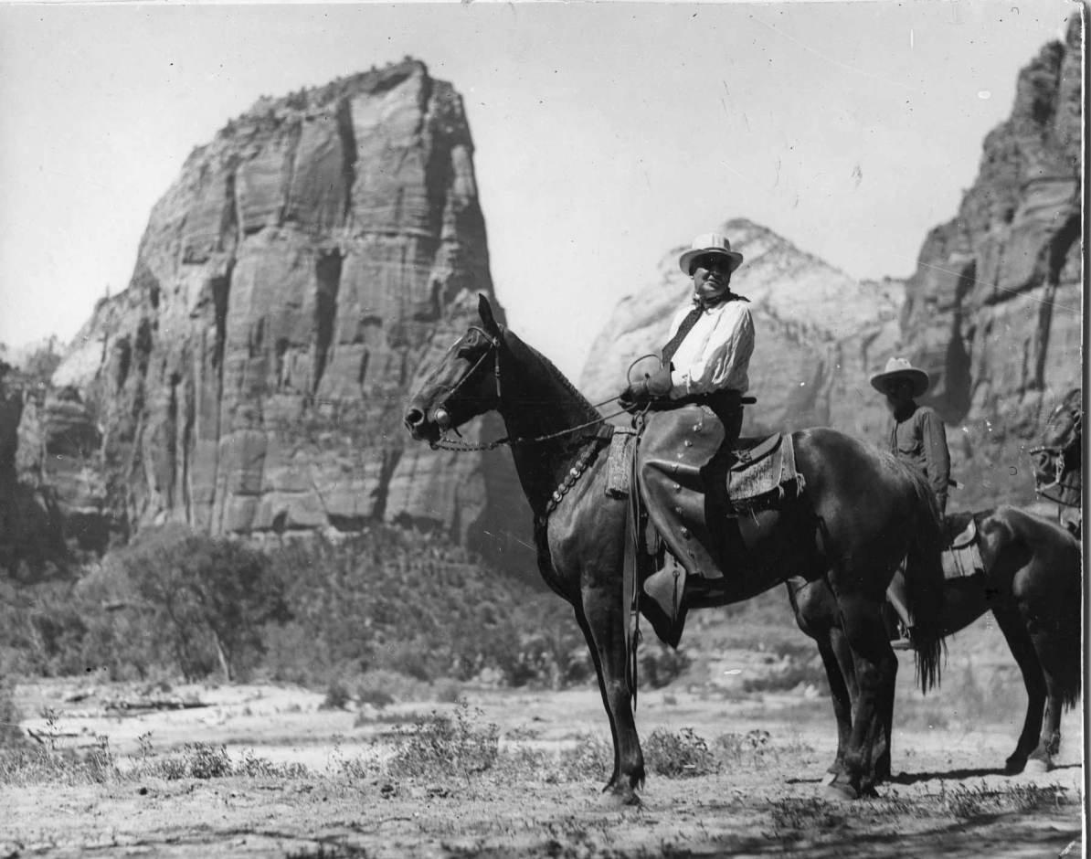 zion national park history - president warren g harding