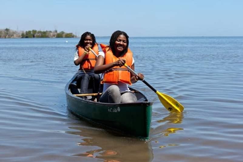 Canoeing Biscayne National Park Florida