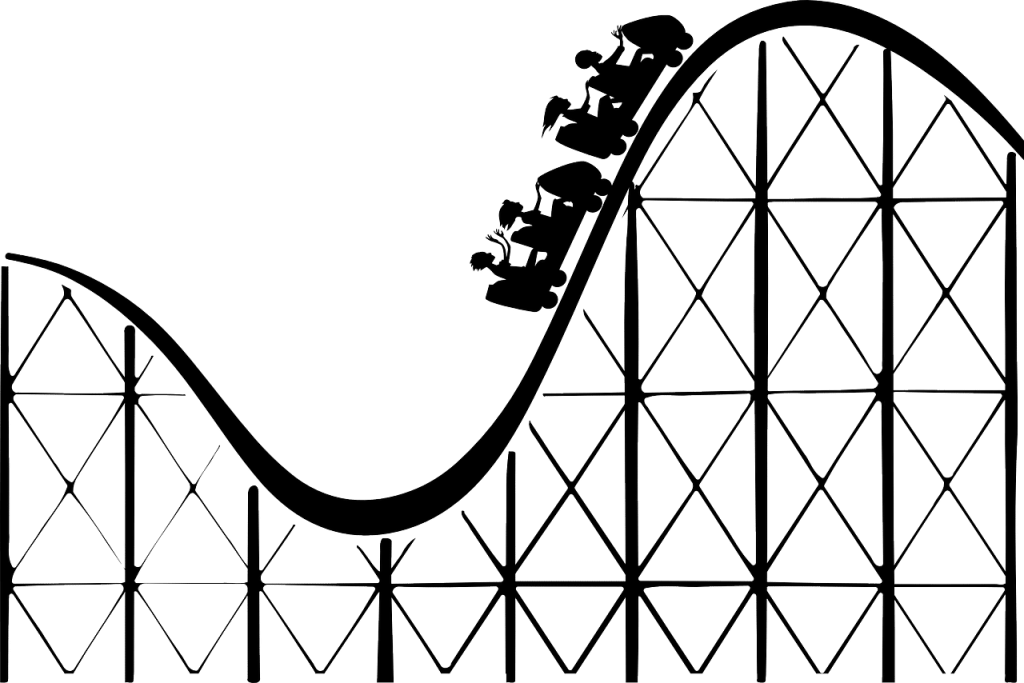roller coaster, rollercoaster, big dipper-156147.jpg