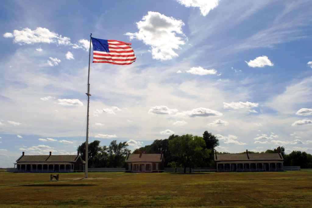 Fort Larned National Historic Site   Kansas National Parks