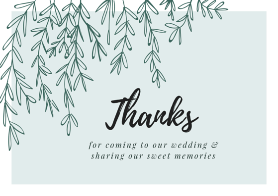 Wedding Gift Thank You Message