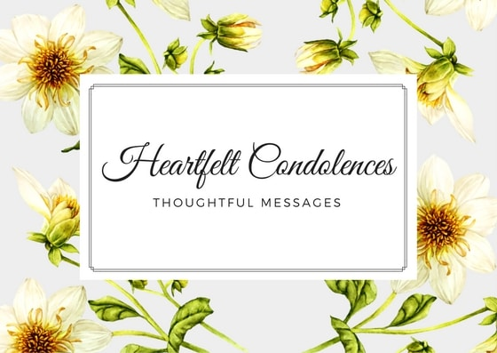Condolence Messages What To Write In A Sympathy Card