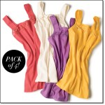 Avon Square Neck Lace Cami Pack