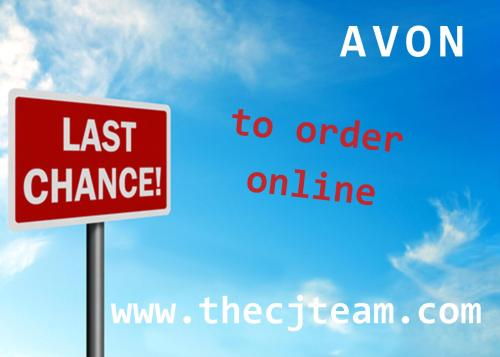 Last Chance to Order Online