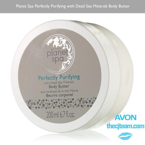 Planet Spa Perfectly Purifying with Dead Sea Minerals Body Butter x