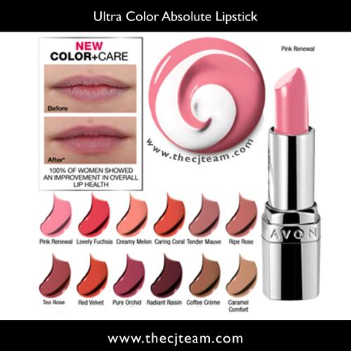 Ultra Color Absolute Lipstick Chart x
