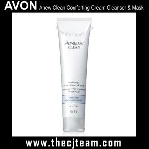 Anew Clean Comforting Cream Cleanser & Mask x