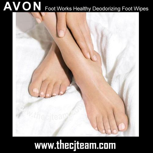 Foot Works Healthy Deodorizing Foot Wipes 2x