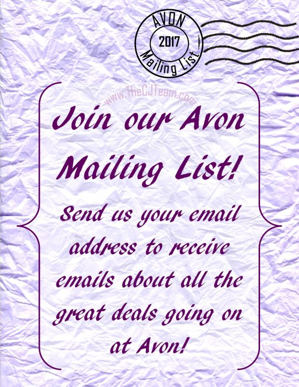 Sign Up for Avon Emails - More Than Makeup Online