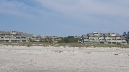 View of our condos from the beach.