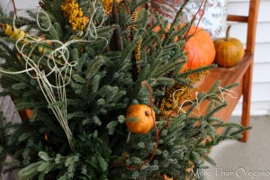 Thanksgiving Container Spruce Up