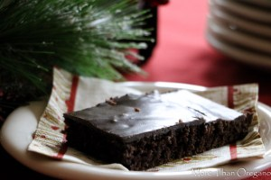 Aunt Avanelle's Special Chocolate Sheet Cake