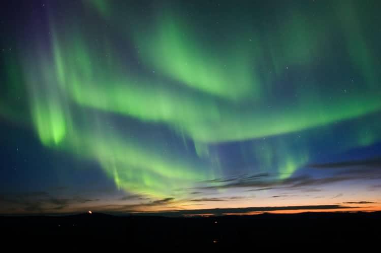 North Pole Alaska Northern Lights
