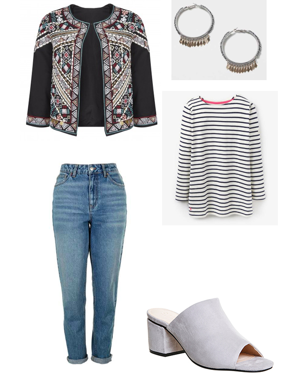 stripe outfit
