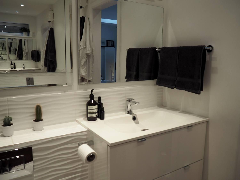 hotel bathroom at home