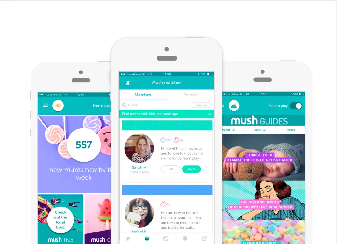 Mush app founders