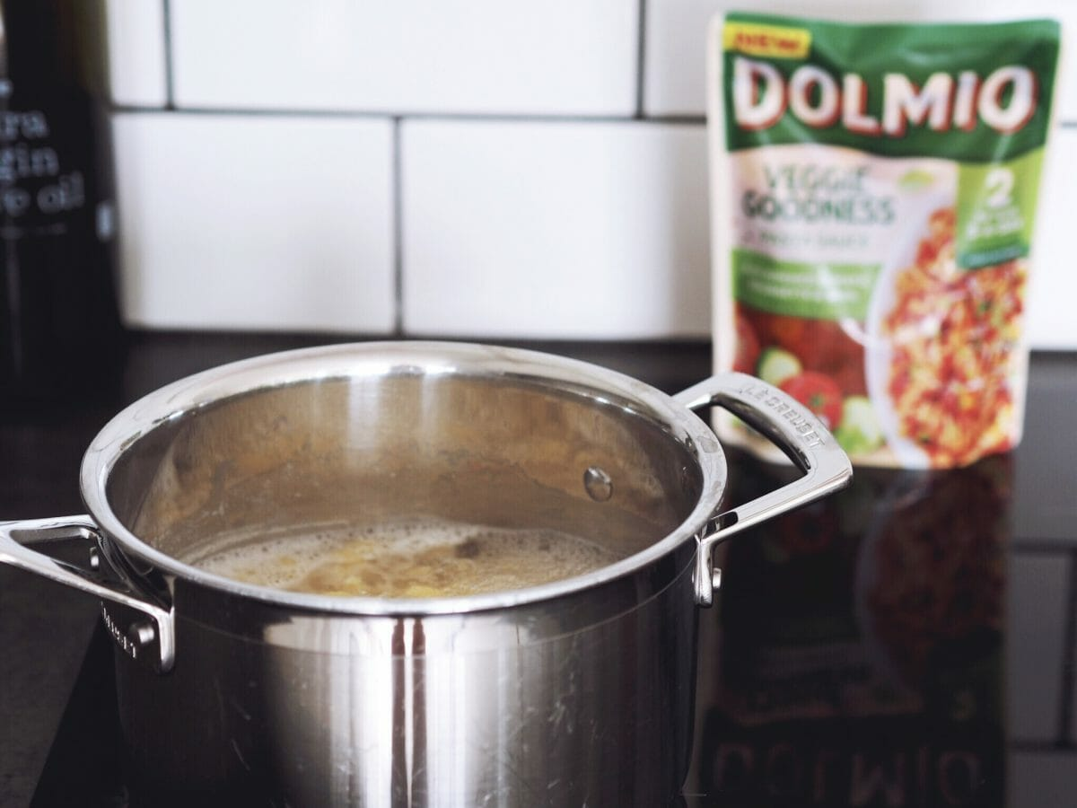 20 minute pasta bake