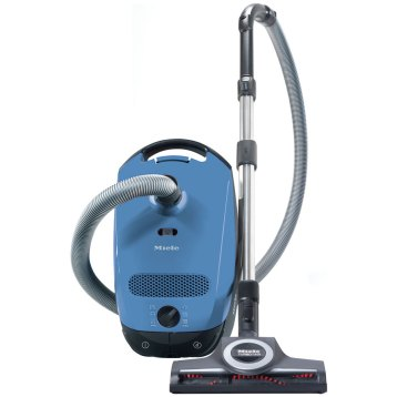 Roll over image to zoom in Miele Classic C1 Turbo Team Canister Vacuum Cleaner