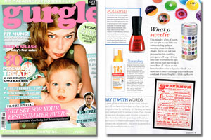 Gurgle Magazine June July 2012