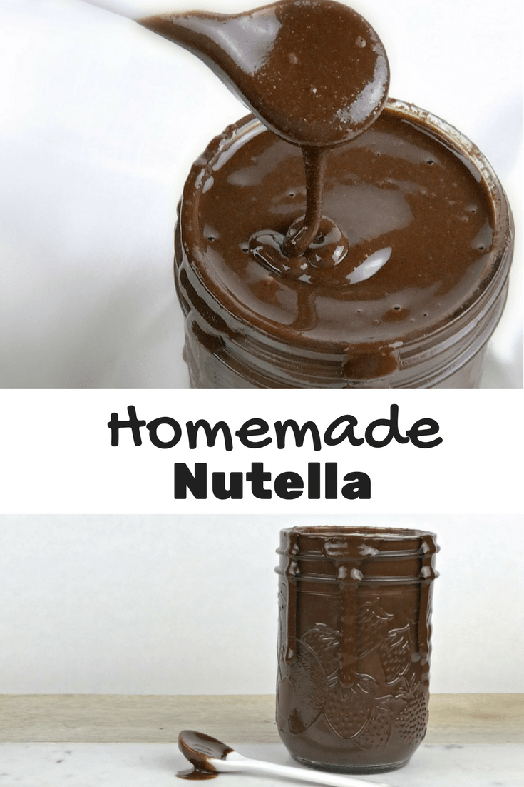 Homemade Nutella is a super easy and indulent treat that is way better than store bought.
