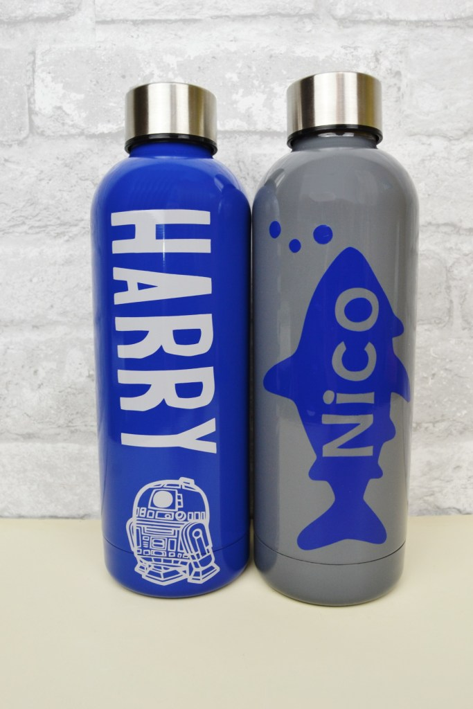 Cricut personalized waterbottles
